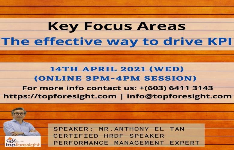 Key Focus Area Performance Management Solutions